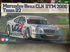 Tamiya Mercedes Benz CLK DTM 2000 Team D2 1/10th Scales R/c 4WD, Nuevo