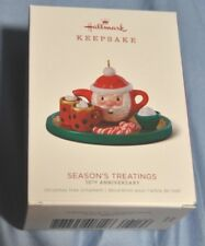2018 HALLMARK SEASONS TREATINGS LIMITED EDITION 10TH ANNIVERSARY PIECE