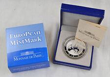 1 1/2 euros francia 2008 European mintmark plata 900 en estuche pp