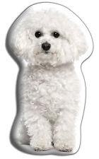 "Bichon Frise Gift – Beautiful Large 'Cuddle Cushion' approx 18"" x 16"""