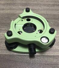 Green Tribrach with Optical Plummet, For Leica, Topcon