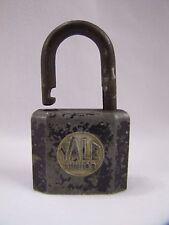 Antique Padlock Yale Junior Padlock Steel Rustic Antique