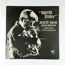 ZOOT SIMS & JIMMY ROWLES Warm Tenor 2310831 Alshire LP Vinyl VG+ near ++