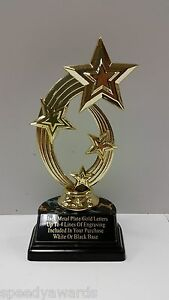 TROPHY YOUR CHOICE OF FIGURE      FREE ENGRAVING     FAST SHIPPING