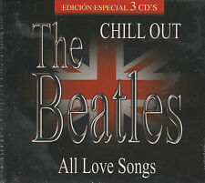 CD - The Beatles NEW Chill Out All Love Songs 3 CD's FAST SHIPPING !