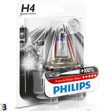 Philips H4 X-treme Vision Moto 60/55W Fari del motociclo 12342XVBW Single
