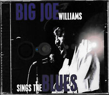 Big Joe williams-sing the blues/CD/NEUF + OVP-sealed!