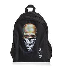 Sullen Downtown Eternal Flame Tattoo Goth Biker Skater Rock Punk Skull Backpack