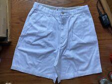Women's COLUMBIA White Chinos Shorts Ladies Size 12