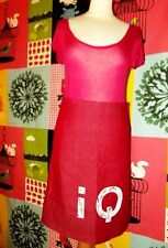 IQ COMPANY JUPE SKIRT POP DENIM CERISE T XS OU 36/38