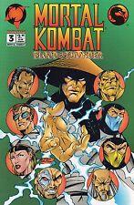 Malibu Mortal Kombat #3 Blood & Thunder (Sep.1994) High Grade