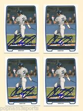 AUSTIN AUNE Signed/Autographed 2012 BOWMAN CARD Rookie RC New York Yankees w/COA