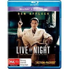 Live By Night (Blu-ray/UV) NEW Blu-Ray
