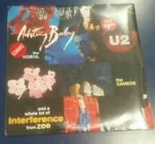 (Brand New & Sealed)U2 Achtung Baby Videos Cameos Zoo TV Movie Concert Laserdisc