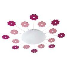 Lampadari da soffitto rosa in plastica da cucina