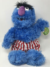 """New 17"""" Herry Monster Plush Sesame Street Place Classic Character 2015 IN HAND"""