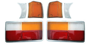 VOLVO 140 COMPLETE SET  TAIL LIGHTS LENSES AND TURN SIGNALS  1973,1974