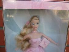 Barbie 2003 Birthday Wishes Pale Pink Gown Blonde Hair