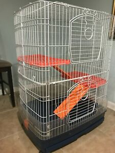 Prevue Hendryx small cage (deluxe), chinchilla, ferrets, small animals