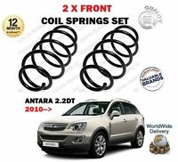 FOR VAUXHALL OPEL ANTARA 2.2 DT + 4WD CDTi 2010->on FRONT AXLE COIL SPRINGS PAIR