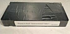 Still sealed -- Pump 'n Seal Instructional Video VHS