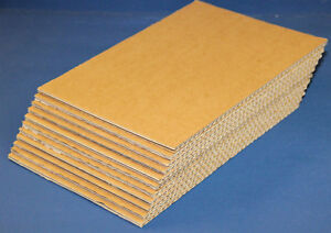 30 CORRUGATED BOARD CARDBOARD SHEETS BROWN DOUBLE WALL OFFCUT 600mm X 1000mm