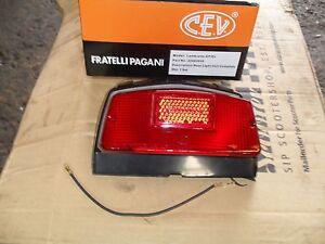 Lambretta gp scootopia cev marked complete rear light.