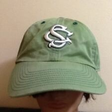 SC Clover Irish St Patrick's Day Faded Green Adjustable Hat Ball Cap Gamecocks