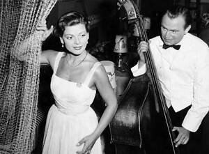 Lys Assia 1956 Eurovision Song Contest winner Switzerland OLD MUSIC PHOTO 21
