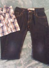 Boy's Levy Jeans in Sz. 10 Reg.,  Plaid Shirt in Sz. L (10-12)