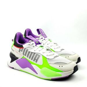 PUMA RS-X Bold Florescent Mens White Sneakers Size US 9 EUR 42 UK 8 372715-02