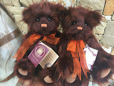 Tatty Collectable Charlie Bears Fully Jointed 30cm Plush Teddy Bear