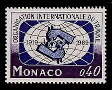 MONACO #748 MNH VF OG International Labor Organization 50th Anniv 0,40F 1969
