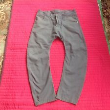 Men's Humor Santiago Chinos/Jeans Size 33 Gray Arc leg Drop Crutch Excellent Co