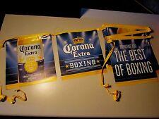 NEW Corona Extra Bottle Boxing Beer String Banner sign Cerveza B-4 Flag Import
