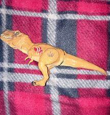 "JURASSIC WORLD 2015 T Rex 8"" Chomping Action Figure Bashers Biters Dino Damage"