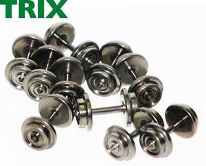 Trix Express H0 E33357811 DC Gleichstrom-Radsatz Spitzenlagerung (10 Stück) NEU