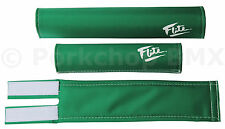 NOS Vintage BMX Old School Scott/'s Flite Ultra Brights Green Frame Pad
