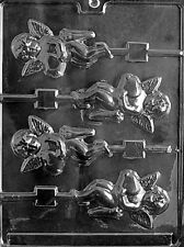 V043 Cupid Lolly Chocolate Candy Soap Mold with Instructions