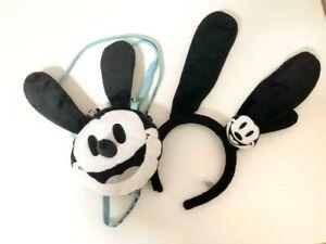 Tokyo Disney Resort Oswald The Lucky Rabbit Mickey Pass Case & Headband Set 2