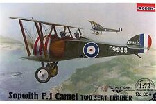 RODEN 054 1/72 Sopwith F.1 Camel Two Seat Trainer