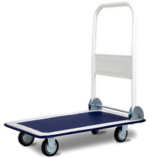 330lbs Platform Cart Dolly Folding Moving Warehouse Push Hand Truck Practical