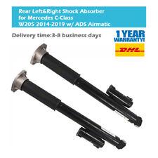 Paar (2) Hinten Luftfederbein Stoßdämpfer Für Mercedes C-Klasse W205 2053207930