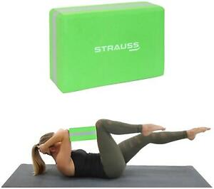 Strauss Yoga Block Cork-H2m