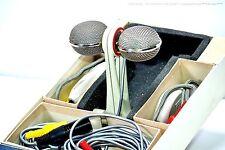 GRUNDIG GDSM211 Vintage Stereo Microphone/Mikrofon in 1-A Zustand + OVP + XLR!!