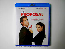 Sandra Bullock Ryan Reynolds Hilarious & Charming Comedy THE PROPOSAL on Blu-ray