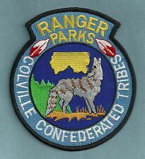COLVILLE CONFEDERATED TRIBES WASHINGTON PARKS RANGER POLICE PATCH