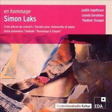 EN HOMMAGE: SIMON LAKS NEW CD