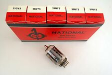 5 Pcs National 21GY5 Audio / Radio Vacuum Tubes NIB