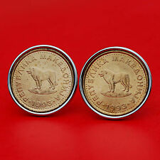 Gorgeous 1993 Macedonia 1 Denar BU Uncirculated Coin Sheep Dog SP Cufflinks NEW